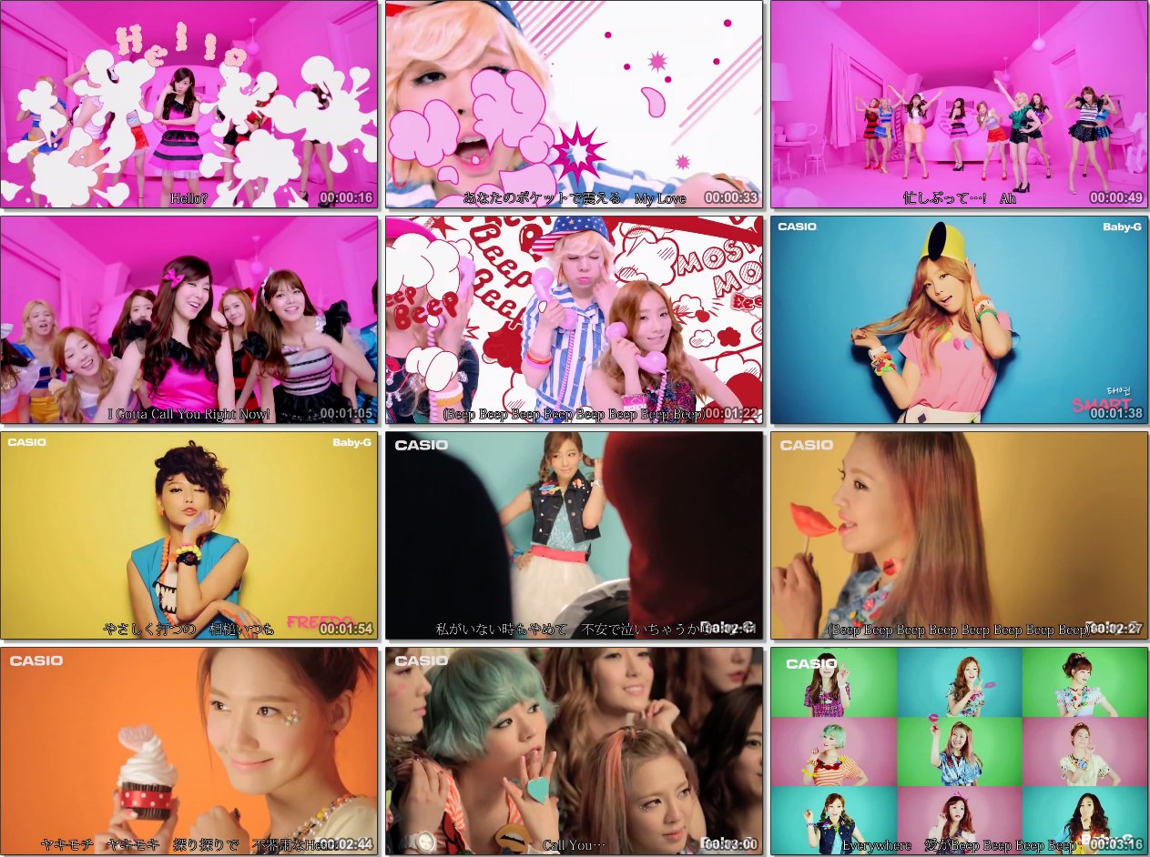[youshikibi] Girls' Generation (SNSD) - Beep Beep [2013 05 29] mp4 preview 0