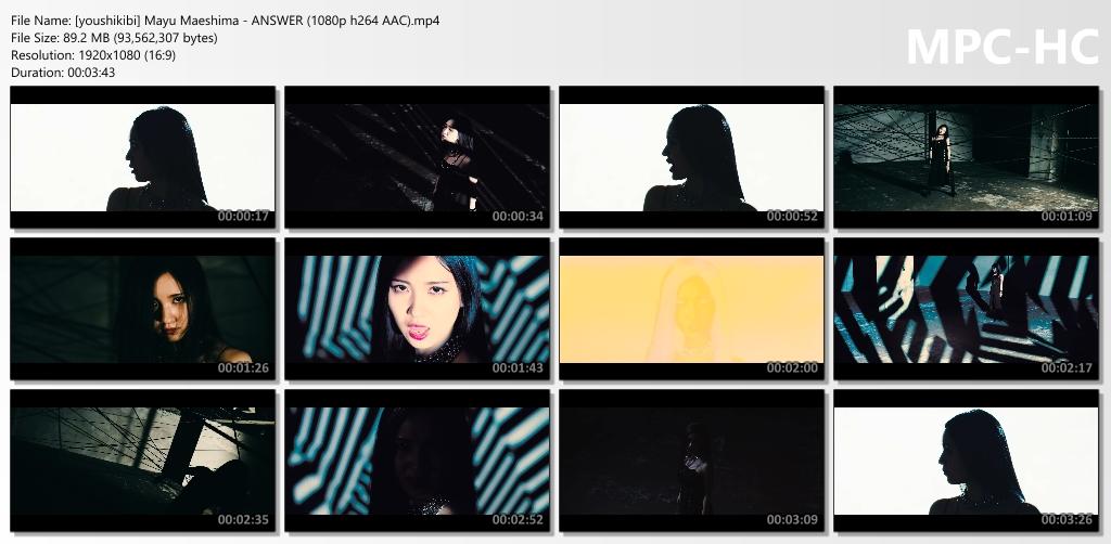 Mayu Maeshima - ANSWER (MV)